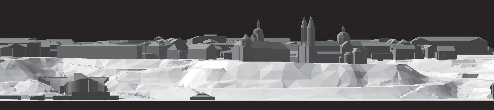 Panorama miasta - model 3d