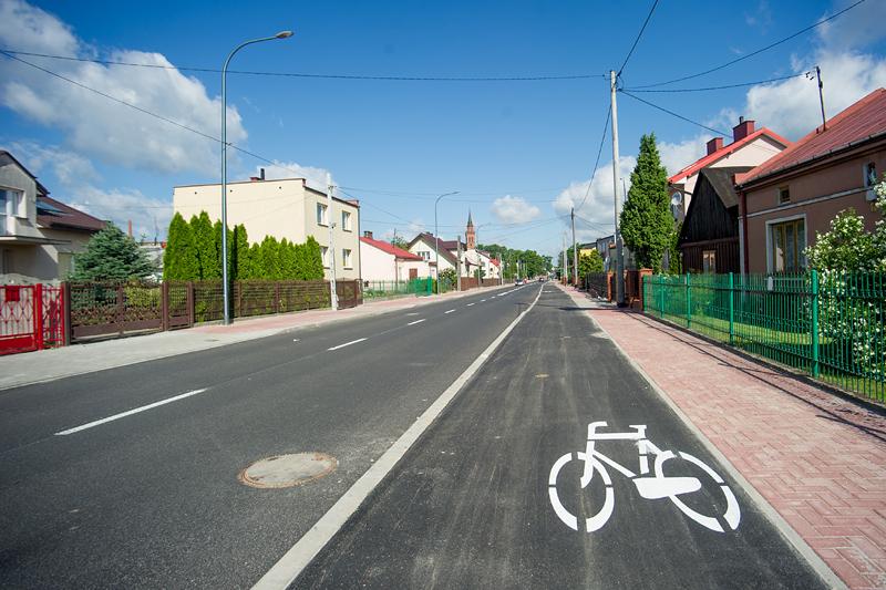 ściezka rowerowa Dobrzyńska